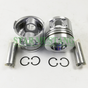 Construction Machinery Excavator S4S Piston With Pin Chamber 53mm Engine Repair Parts 32A17-03100
