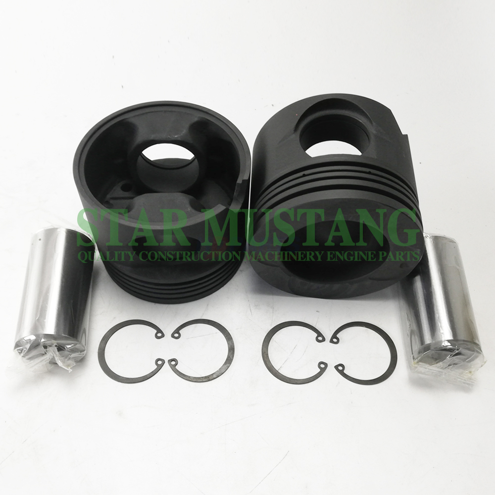 Construction Machinery Excavator P11C Piston With Pin 47mm Engine Repair Parts 13216-2707