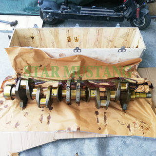 Construction Machinery Excavator 6BF1 Crankshaft Engine Repair Parts