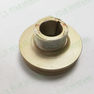 Construction Machinery Excavator 4TNV98 Crankshaft Pulley Single Slot Engine Repair Parts