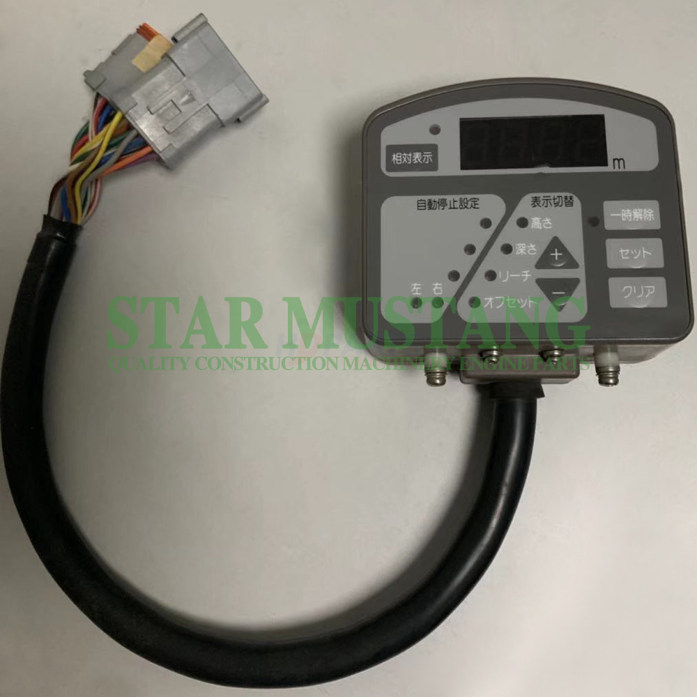 Construction Machinery Excavator CAT313 Monitor Original Electronic Repair Parts