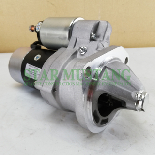 Construction Machinery Diesel Engine Spare Parts Excavator Starter Motor TD42 BD30 24V 4.5KW 11T