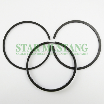 Construction Machinery Excavator 3TNA68 Piston Ring Sets Engine Repair Parts