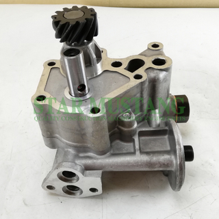 Construction Machinery Engine Parts Oil Pump 6D31 SK200-3 ME084586 Old