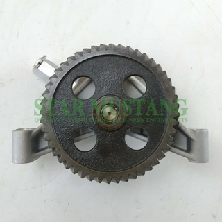 Construction Machinery Engine Parts Oil Pump 6D16 48T ME034664
