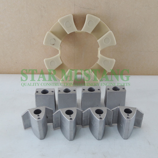 Excavator Parts Rubber Coupling S6KT For Construction Machinery