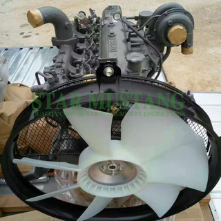 Construction Machinery Excavator 6BG1T Diesel Engine Assembly 128.5KW 135.5KW Repair Parts