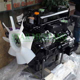 Construction Machinery Excavator 4TNV94L Diesel Engine Assembly 34.6KW Repair Parts