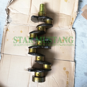 Construction Machinery Excavator 4TNV94 4TNV98 Crankshaft Engine Repair Parts