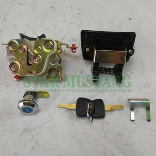 ZAX120 ZAX200-1 ZAX200-6 ZAX240-6 ZAX350 ZAX450 Cab Door Lock Assy For Construction Machinery Excavator
