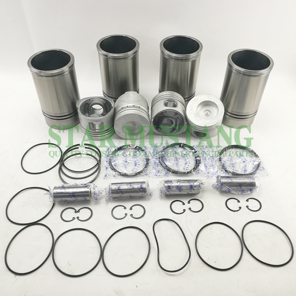 Piston Liner Kit YN36GB2 Repair Overhaul Construction Machinery Excavator Engine Parts 01628412