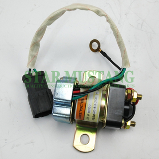 Construction Machinery Excavator PC200-7 Motor Relay Electric Repair Parts HD-4258