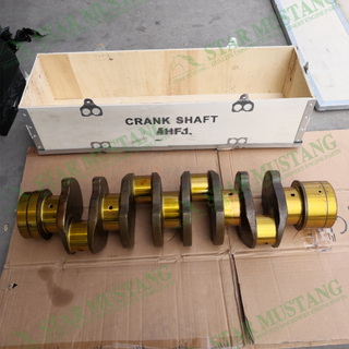Construction Machinery Excavator 4HF1 Crankshaft Engine Repair Parts