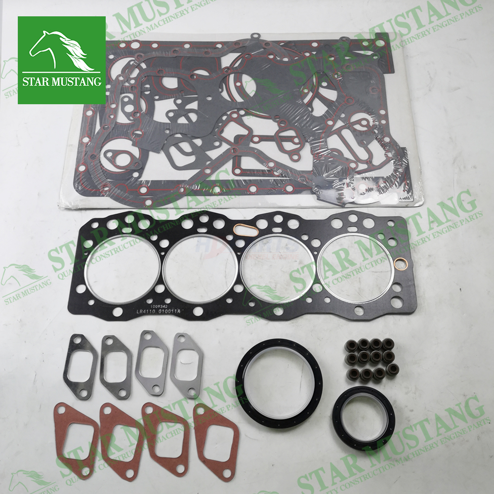 Excavator Machinery Engine 4108 Full Gasket Kit Overhaul Head Set Repair Parts