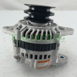 Construction Machinery Diesel Engine Spare Parts Excavator Alternator 6D22