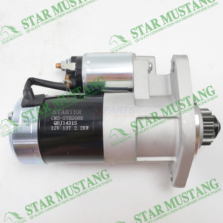 Construction Machinery Excavator S4L2 K4D Starter Motor 12V 13T 2.2KW Engine Repair Parts 31B66-00101