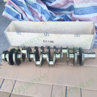 Construction Machinery Excavator D1146 Crankshaft Engine Repair Parts