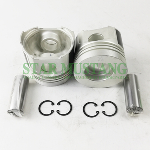Construction Machinery Excavator V1902 Piston With Pin 25mm Chamber Engine Repair Parts 17365-21120