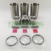 Piston Liner Kit D750 Repair Overhaul Construction Machinery Excavator Engine Parts