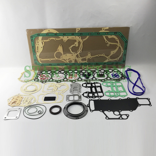 Construction Machinery Excavator 6D34 Full Gasket Kit Diesel Engine Overhaul Repair Parts Customized
