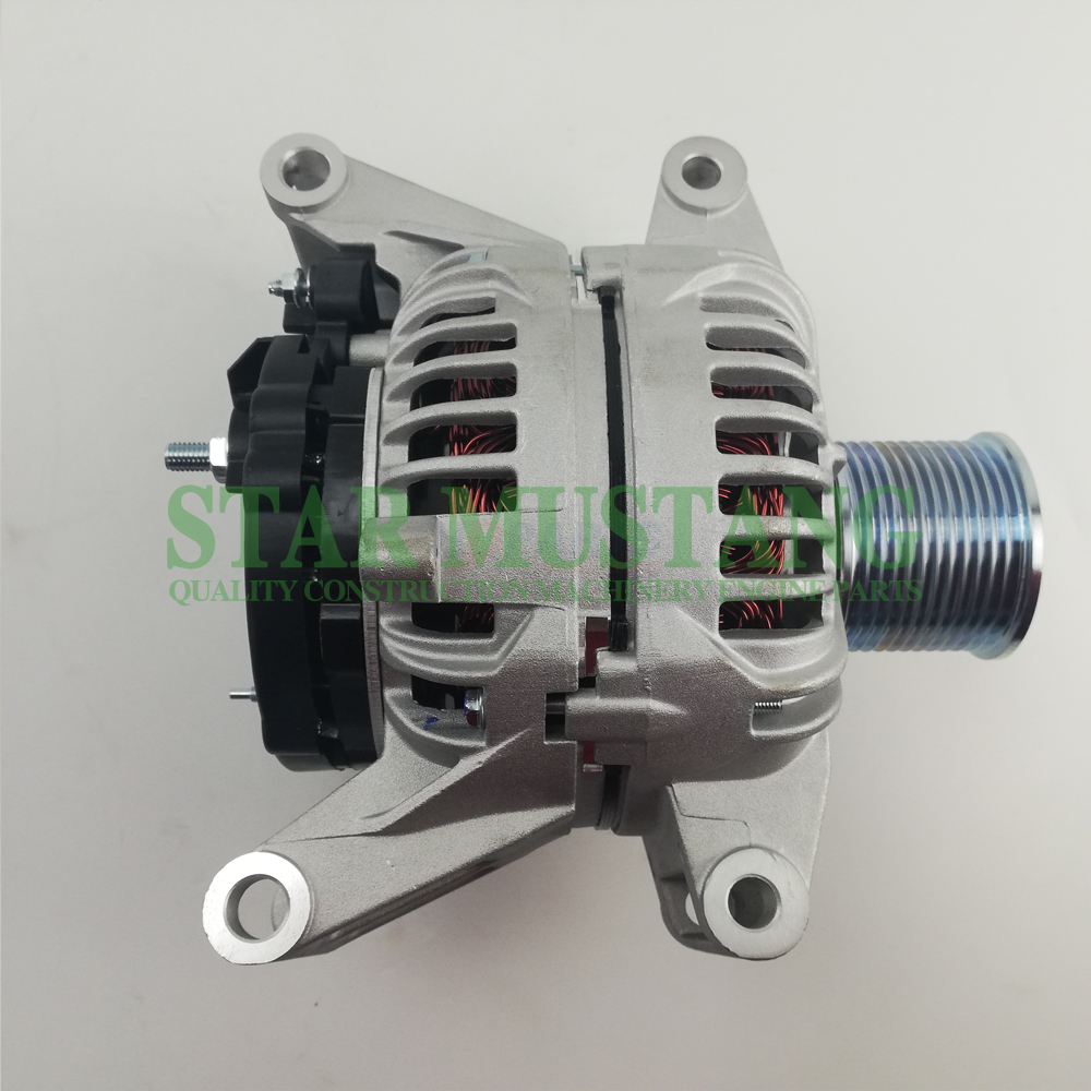 Construction Machinery Diesel Engine Spare Parts Excavator Alternator C7.1 24V