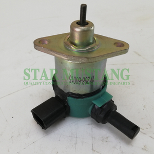 Construction Machinery Diesel Engine Spare Parts Excavator Stop Switch D1105 17208-60016