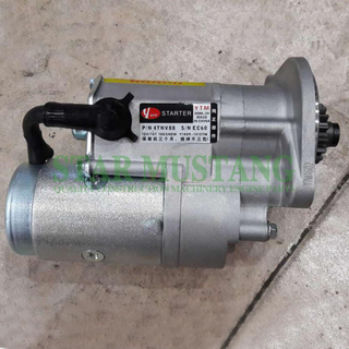 Construction Machinery Diesel Engine Spare Parts Excavator Starter Motor 4TNV88