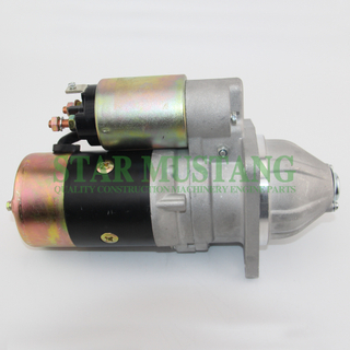 Construction Machinery Diesel Engine Spare Parts Excavator Starter Motor FD33