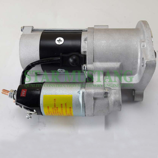 Construction Machinery Diesel Engine Spare Parts Excavator Starter Motor FD46 24V 3.5KW 11T