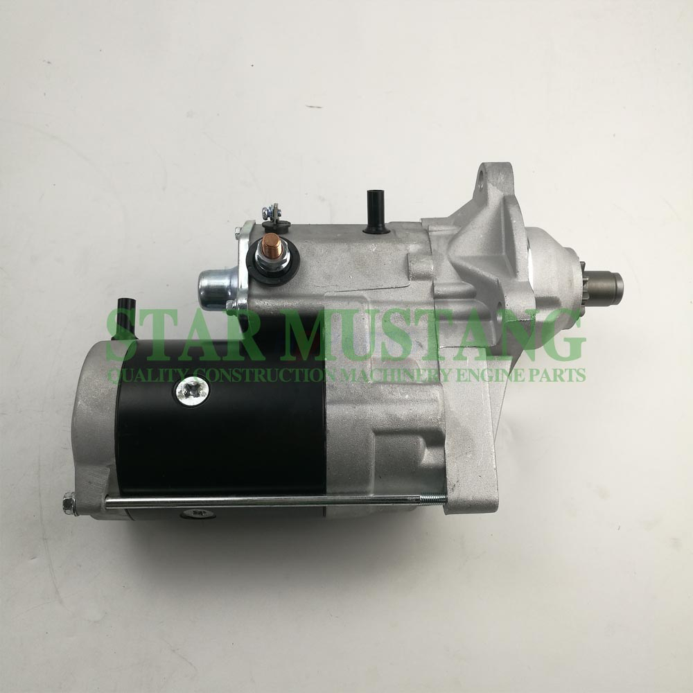 Construction Machinery Diesel Engine Spare Parts Excavator Starter Motor 6BT