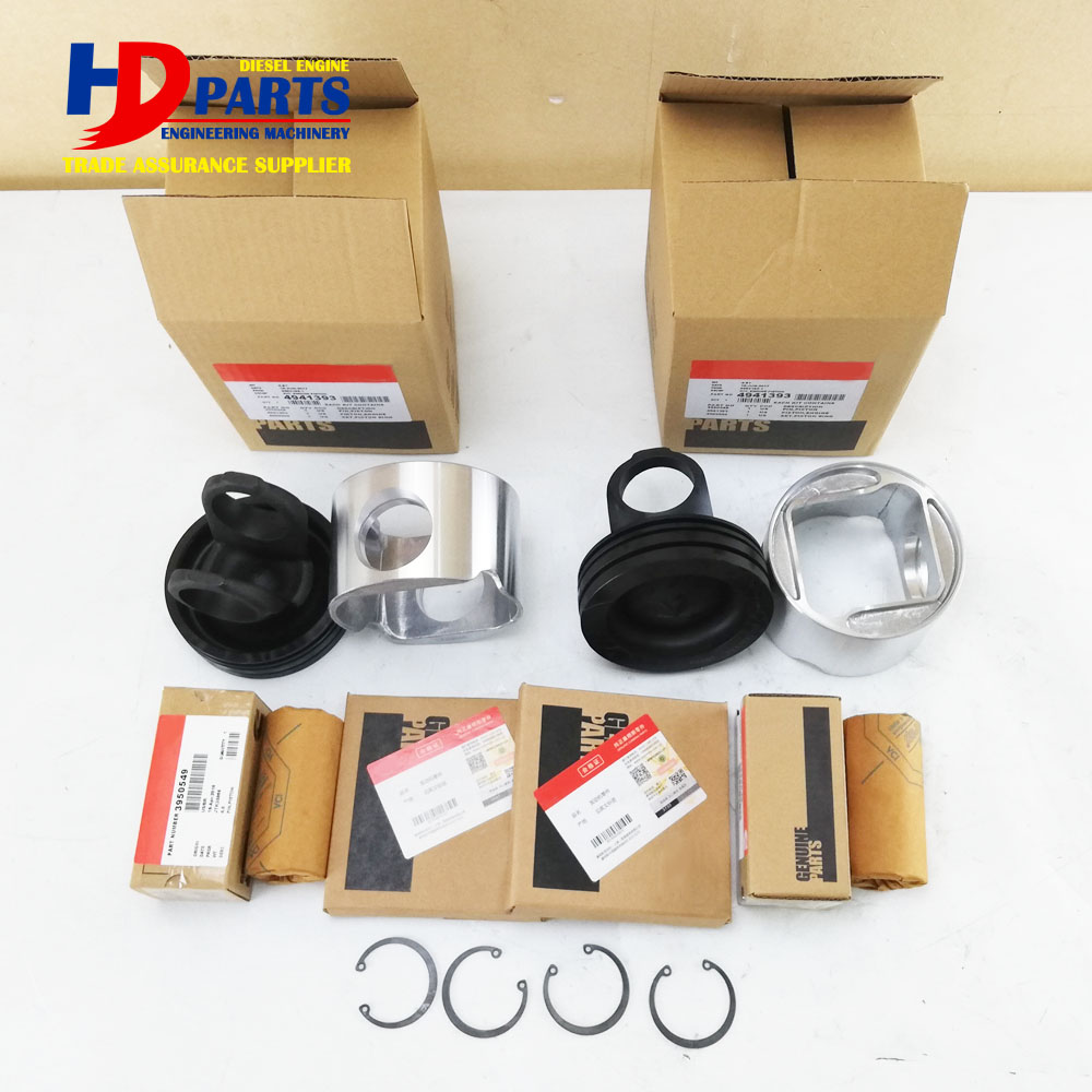 Excavator Cummins Engine Parts QSL9 L9 Cylinder Liner Rebuild Kit 4941393
