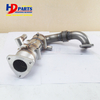 J08E EGR Pipe Exhaust Gas Valve For SK350-8 Excavator