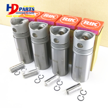 Engine Piston Engine Liner Piston Ring For Engine K4E Liner Kit Set