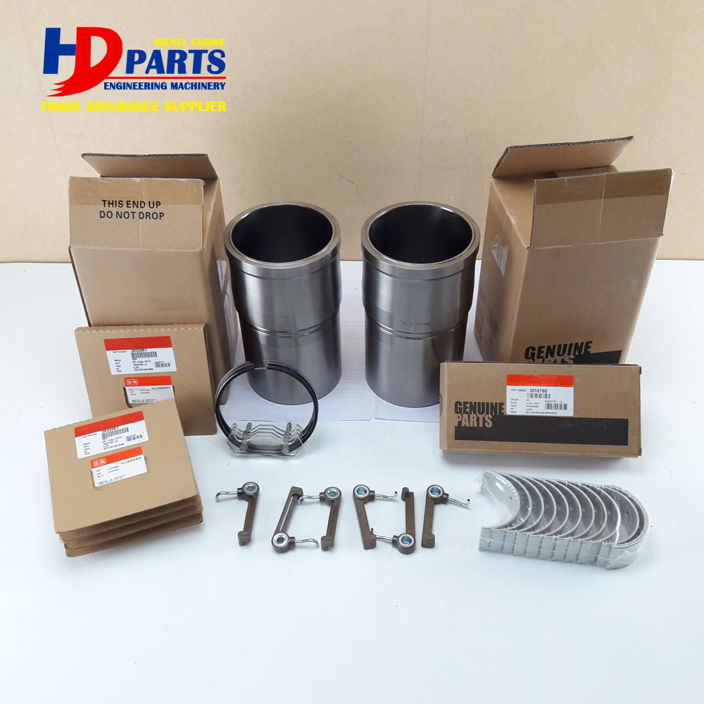 Engine Spare Parts Liner Piston Repair Kit For Cummins Diesel Engine LT10 3803965