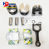 Engine Parts 3TNV70 3TNV76 Rebuild Kit Cylinder Liner Kit for Yanmar Engine