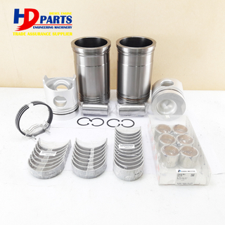 Engine Spare Parts 6D20 Engine Cylinder Repair Kit with Liner Kit and Bearing