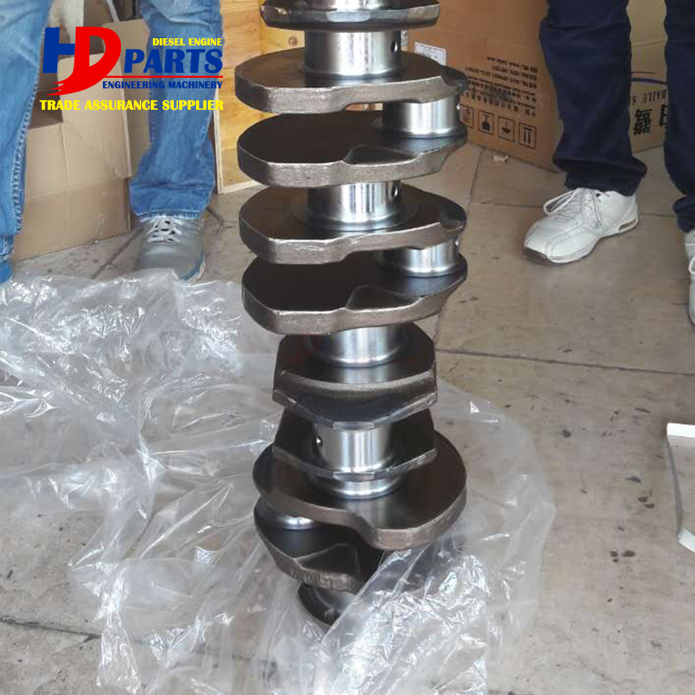 Excavator Engine Spare Parts D1146 DE08 Engine Crankshaft